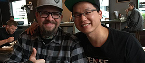 SENSE Had dinner with GrimmGreen in San Diego 2016